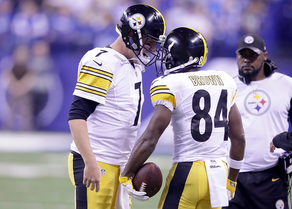 Ben, Bell & Brown Lead Steelers Over Colts