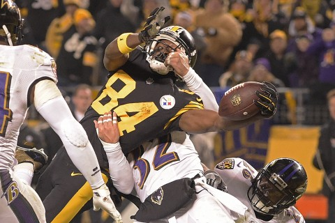 Steelers Beat Ravens, Clinch AFC North Title