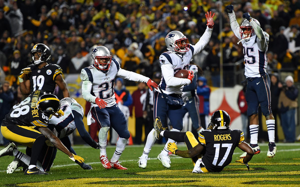 Patriots Beat Steelers Again, Back Atop AFC