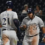 Brewers Hit Four Homers, Beat Bucs 8-3