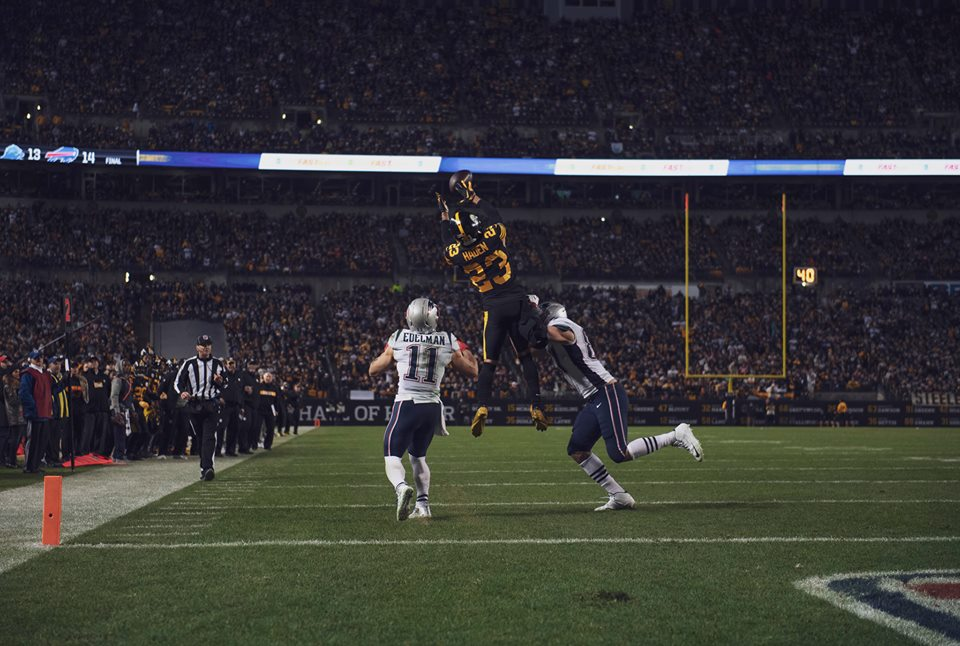 Steelers Stay Atop AFC North By Defeating Patriots