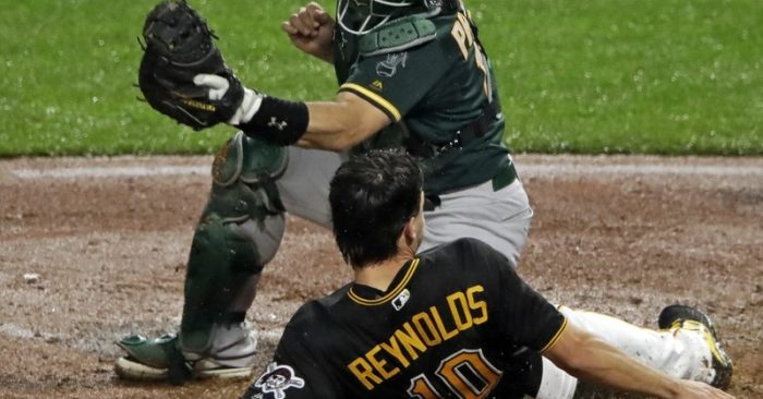 Pirates Overcome Early Deficit, Beat Athletics 6-4