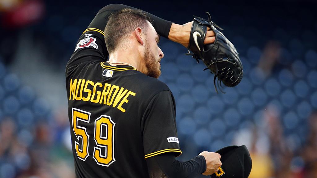 Musgrove Struggles, Pirates Lose 11-1