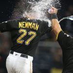 Newman Homers Twice, Pirates Beat Reds 6-5