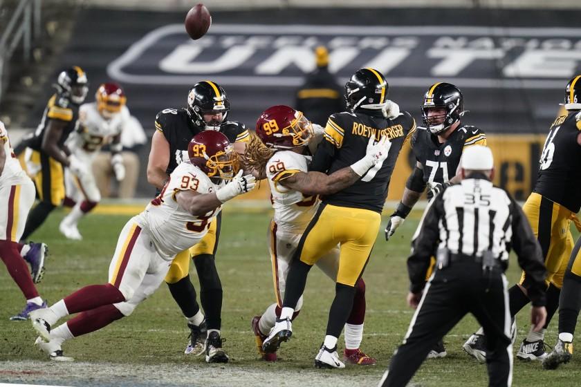 Washington Rallies To Hand Steelers First Loss
