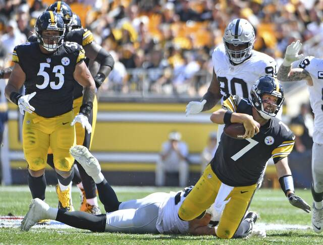 Injuries, Lack Of Offense Cost Steelers Against Raiders