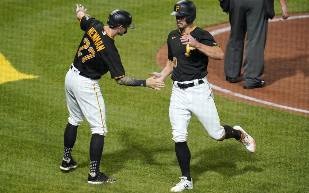 Pirates Build Big Lead, Hold On For 6-5 Victory
